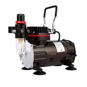 VIVOHOME Airbrushing Paint System  - Best Airbrush Compressors: Multi-purpose fluid tips