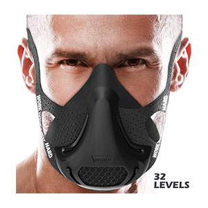 VO2MAX Training Mask Workout High Altitude Elevation - Best Masks for Working Out: Boosts Your Strength and Endurance.