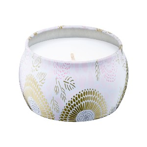 VOLUSPA Panjore Lychee Mini Decorative Tin Candle - Best Cheap Scented Candles: Fruity Scent