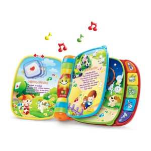 VTech Musical Rhymes Book - Best Musical Toys for 6 Month Old: Interactive book