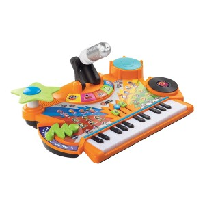 VTech Record & Learn KidiStudio - Best Educational Toys for 5 Year Olds: Includes real microphone
