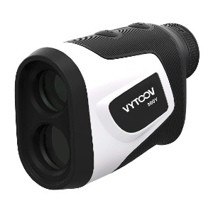 VYtoov Golf Rangefinder with Slope - Best Rangefinder for The Money: Fit Comfortable in Your Hand with Thumb Groove