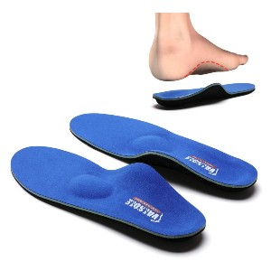 Valsole Plantar Fasciitis Insoles  - Best Insoles for Bunions: Support and Shock-Absorbent Insoles