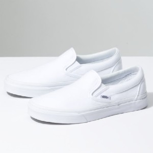 Vans SLIP-ON - Best Slip-On Sneakers for Walking: Casual Plain Design Slip-On