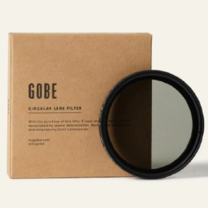 Gobe Variable ND2-400 Filter 1Peak - Best ND Filters for Wedding Photography: Slim Magnalium Rim