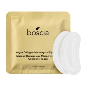 Boscia Vegan Collagen Microcrystal Eye Mask - Best Eye Patches for Puffiness: Preferable for All Skin Types