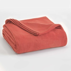 Vellux Supersoft Lightweight Microfleece Blanket - Best Blanket for Cold Weather: All-Over Fleece Texture Blanket