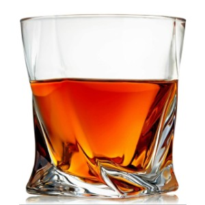 Venero London Venero Crystal Whiskey Glasses - Best Glass for Gin and Tonic: Thick Sides and Base Won't Break