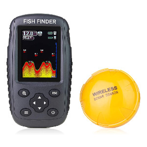 Venterior Portable Rechargeable Fish Finder - Best Fish Finders for Small Boats: Wireless Fish Finder