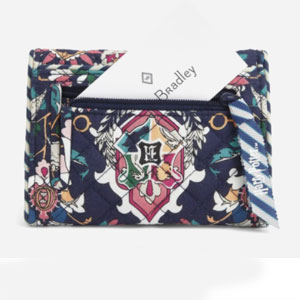 Vera Bradley Harry Potter™ RFID Riley Compact Wallet - Best Wallet for Women: Practical small wallet