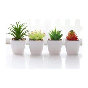 Veryhome Fake Succulent Plants - Best Artificial Plants on Amazon: Great for Home Decor