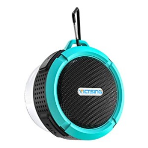 VicTsing SoundHot C6 Portable Bluetooth Speaker - Best Waterproof Speaker: Super sticky suction