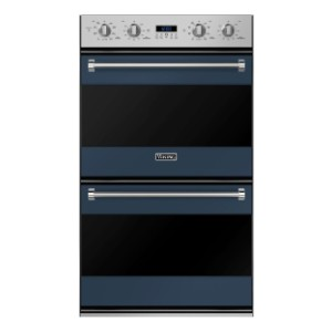 Viking 3 Series RVDOE330SB Double Wall Oven Blue - Best High End Wall Oven: Defrost and dehydrate settings