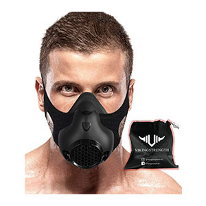 Vikingstrength New 24 Levels Training Workout Mask - Best Masks for Working Out: The Altitude Sports? No worries!