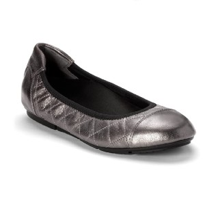 VIONIC Women's Prim Ava Ballet Flat Shoes - Best Flats with Arch Support: Flats with An Elasticized Topline