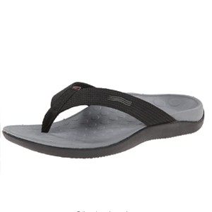 VIONIC Unisex Wave Toe-Post Sandal - Best Sandals for Wide Feet: Biomechanically Designed Footbed