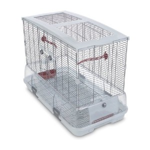 Vision II Model L01 Bird Cage - Best Bird Cages for Budgies: No-drawer design