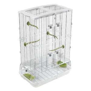 Vision M02 Wire Bird Cage - Best Bird Cage for Finches: Less time for cleaning