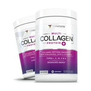 Vitauthority Multi Collagen Peptides - Best Collagen Powder for Cellulite: Supports Youthful and Vibrant Skin