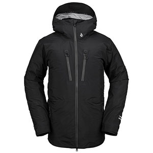 Volcom TDS INF GORE-TEX Jacket - Best Rain Jackets for Scotland: Stretch Adjustable Powder Skirt