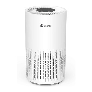 Vremi Premium True HEPA Air Purifier - Best Air Purifiers to Remove Odors: Three-Stage Filtration Air Purifier
