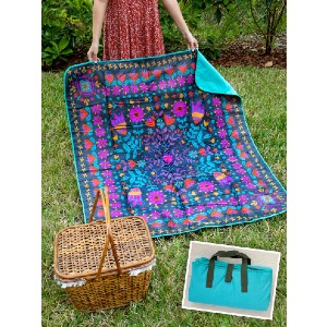 Natural Life WATER RESISTANT PICNIC BLANKET - Best Picnic Blanket Waterproof: perfect for picnics in the park