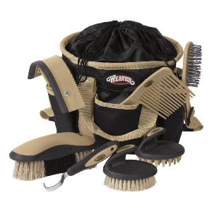 Weaver Leather  WEAVER Grooming Kit  - Best Brush for Horse Mane and Tail: Complete package
