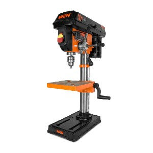 WEN 4210T  - Best Drill Press for the Money: Rack and Pinion Height Adjustment