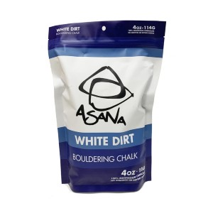 Asana White Dirt Chalk - Best Chalk Climbing: Break Out of the Cage and Touch