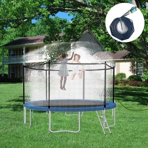 WHOISHE Trampoline Water Sprinkler  - Best Trampoline Sprinkler: Fits all trampoline types