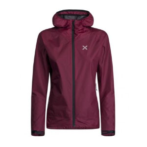 MONTURA WIND AIR HOODY JACKET - Best Rain Jackets for Running: Adjustable cuffs with Velcro