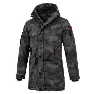 Pitbull West Coast HEMLOCK III - Best Coats for Men: With a Large Hood and Double Sleeves