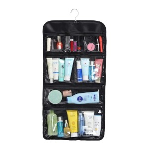 WODISON Cosmetic Organizer Storage - Best Makeup Storage: Hanging Cosmetic Organizer