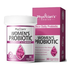 Physician's Choice WOMEN'S PROBIOTICS - Best Probiotics for Vaginal Health: Formulated for Feminine Health