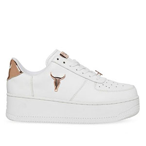 WINDSOR SMITH WOMENS RICH - Best Sneakers Under 150: Contrast Coloured Back Feature