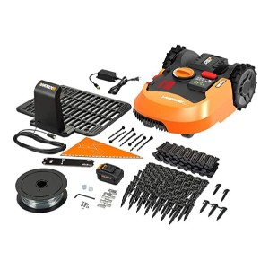 WORX Landroid L WR150 - Best Robotic Lawn Mower for Small Garden: It detects rain!