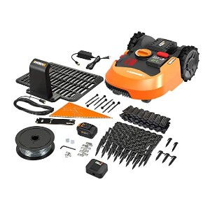 WORX Landroid L WR153 - Best Robotic Lawn Mower for Slopes: For uneven ground