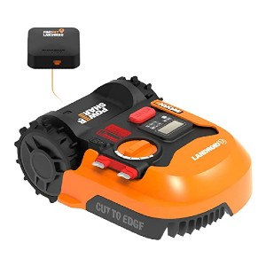WORX Landroid M WR143  - Best Robotic Lawn Mower for Slopes: It won't leave your yard