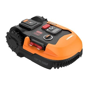 WORX WR155  - Best Robotic Lawn Mower for Large Lawns: Noise-reducing motor