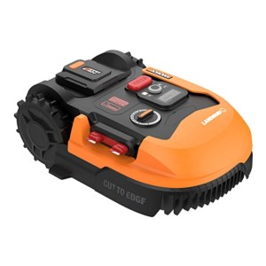 WORX Landroid L WR155  - Best Robotic Lawn Mower for 1/2 Acre:  Noise-reducing motor