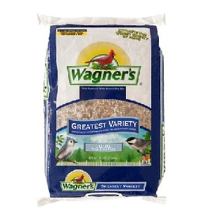 Wagner's Greatest Variety Wild Bird Food - Best Bird Food for Cardinals: Sunflower Chips and Striped