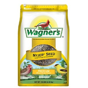 Wagner's Nyjer Seed Premium Wild Bird Food - Best Bird Food to Attract Colorful Birds: Tiny Seed