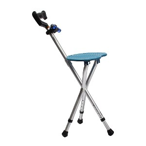 BSROZKI Walking Cane with Folding Seat - Best Walking Cane for Elderly Woman:  Stop and relax at any moment