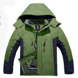 Wantdo Men's Hooded Waterproof - Best Raincoats for Cold Weather: The stretchable glove with the thumb hole