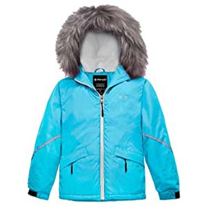 Wantdo Girl's Waterproof Ski Jacket - Best Raincoats for Iceland: Your kids will love it