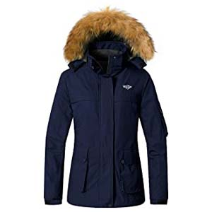 Wantdo Women's Parka Mountain Ski Fleece Jacket - Best Raincoats for Iceland: It suits Iceland vibes
