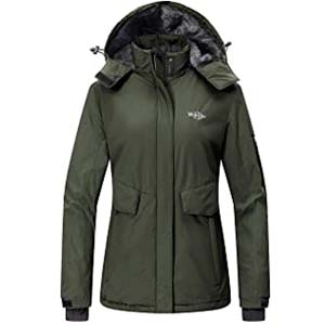 Wantdo  Women's Winter Coat Snow Jacket - Best Raincoats Amsterdam: Keep it safe with multi pockets