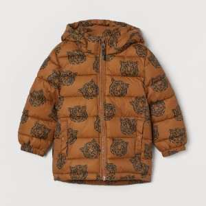 H&M Water-repellent Puffer Jacket - Best Coats for Toddlers: Padded Jacket in Quilted