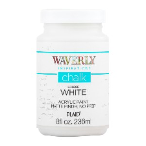 Waverly Inspirations 60699E Chalk Paint - Best Chalk Paint for Crafts: Dries to an Ultra Matte Finish