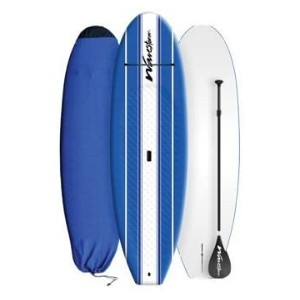 Wavestorm Stand Up Paddleboard - Best Paddle Boards for Lakes: 2 Sets of Paddle Board